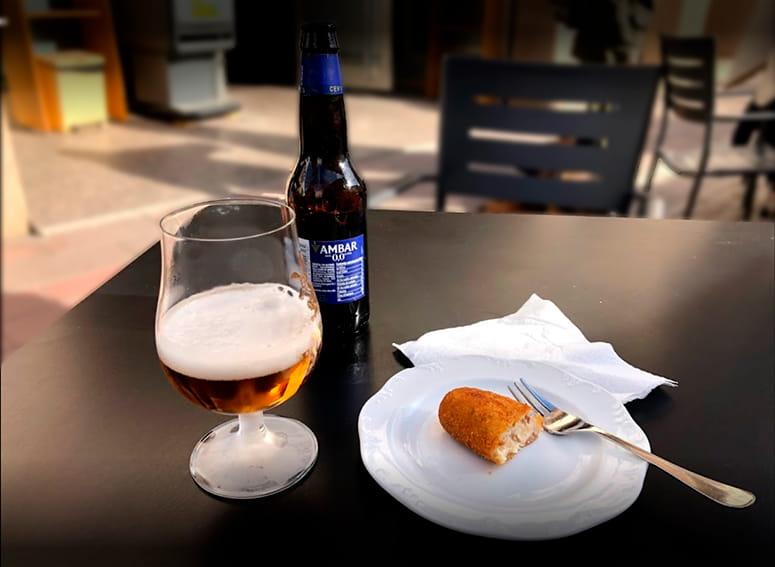 almuerzos terraza hotel resstaurante chane la puebla de alfinden